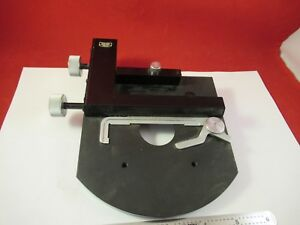 Carl Zeiss Germany Stage Table Micrometer Microscope Part 92 a 15