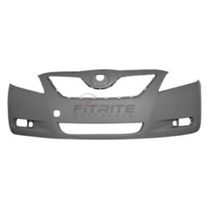 New Front Bumper Cover Japan Built Models For 2007 2009 Toyota Camry To1000327