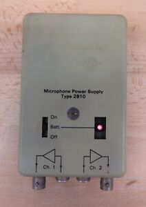 Bruel Kjaer 2810 2 Channel Microphone Power Supply With Built In Amplifier