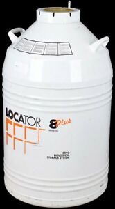 Thermolyne Locator 8 Plus Cryo Biological Storage System Tank Container