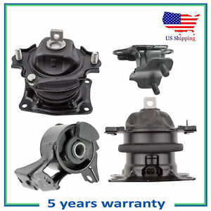 Set I vtec Engine Motor Transmission Mount For 2005 2006 Honda Odyssey 3 5l