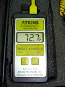 Cooper Atkins 39658 k Termocouple Contact Thermometer