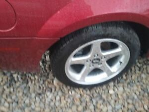 Wheel 17x8 5 Spoke Gt With Exposed Lug Nuts Fits 98 04 Mustang 737710