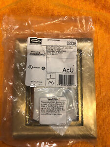 Lot Of 2 Hubbell Wiring Device kellems Sb3083 Floor Box Flange Brand New