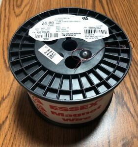 New 9 8 Lbs Essex H Soderon Fs 155 Awg 24 Round Copper Magnet Wire