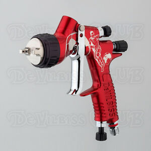 Devilbiss Gti Pro Lite Fifa 2018 Limited Edition Spray Gun Without Cup