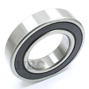 Radial Ball Bearing 6211 2rs With 2 Rubber Seals 55x100x21mm