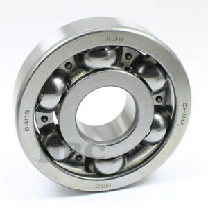 Radial Ball Bearing 6406 Open Light Oil 30x90x23mm