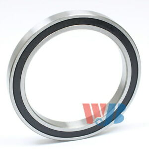 Radial Ball Bearing 6810 2rs With 2 Rubber Seals 50x65x7mm
