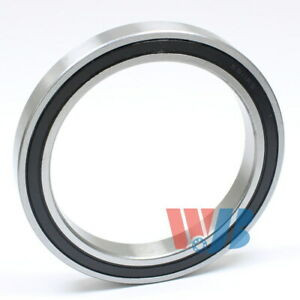Radial Ball Bearing 6811 2rs With 2 Rubber Seals 55x72x9mm