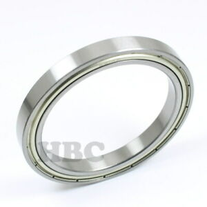 Radial Ball Bearing 6814 zz With 2 Metal Shields 70x90x10mm