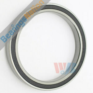Radial Ball Bearing 6815 2rs With 2 Rubber Seals 75x95x10mm