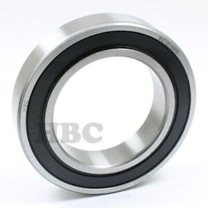 Stainless Steel Radial Ball Bearing Hbc S6010 2rs With 2 Rubber Seals 50x80x16mm