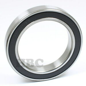Radial Ball Bearing 6910 2rs With 2 Rubber Seals 50x72x12mm