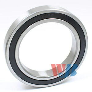 Radial Ball Bearing 6911 2rs With 2 Rubber Seals 55x80x13mm