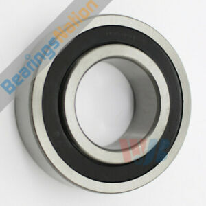 Radial Ball Bearing 87508 2rs With 2 Felt Seals 40x80x24mm