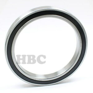 Stainless Steel Ball Bearing S6814 2rs With 2 Rubber Seals 70x90x10mm