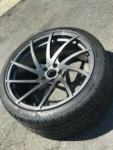 22in Aristo Forged 1pc Forged Monoblock For Range Rover With Tires And Sensors