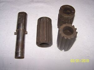 3 Hss Straight Flute Shell Type Reamers With Arbor 2 1 8 2 1 16