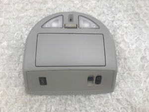 2004 2007 Nissan Armada Front Overhead Console Storage Map Lamps