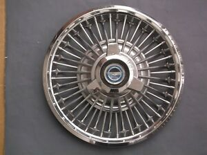 1965 1966 Ford Fairlane Mustang 14 Spinner Knock Off Wire Wheel Cover Hub Cap