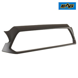 Surround Grill Shell Matte Black Abs Plastic Shell For 2012 2015 Toyota Tacoma