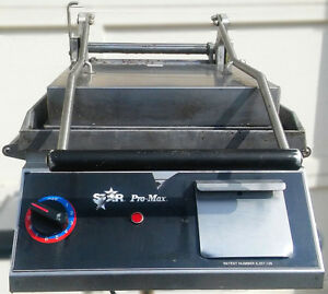 Star Pro max Panini Two sided Sandwich Grill Toaster Watch Video Free Shipping