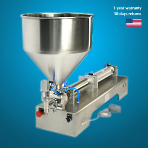 Automatic Filling Machine 100 1000ml Cream honey sauce Cosmetic Paste Filler Sh