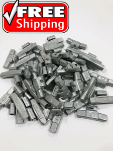 Wheel Balancing Weights Mc Type Coated Clip On 75 Oz 50 Piece Box Free Shipping