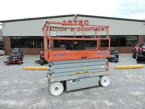 2008 Skyjack Sjiii3226 Scissor Lift Electric Good Condition Low Hours