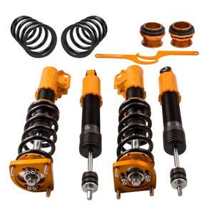 Twin tube Damper Coilover Suspension Kits For Ford Mustang 4th Gen 94 04 Gold