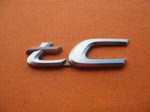 11 12 13 14 15 16 Scion Tc Rear Trunk Lid Emblem Logo Badge Sign Symbol Oem 8