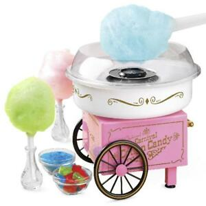 New Commercial Cotton Candy Machine Maker Sugar Floss Candies Electric Machines