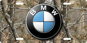 Bmw Vehicle Front License Plate Auto Tag Printed Camo Aluminum 0104