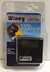new Wixey Digital Angle Gauge With Level Wr365