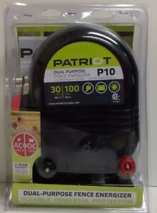 new Patriot P10 Dual Purpose Electric Fence Energizer