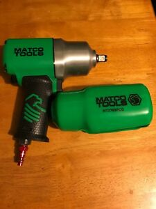 Matco Tools 1 2 Drive Air Impact Wrench Mt2769 Green W Boot Very Nice L k