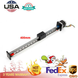 Linear Motion Rail Actuator Xyz Motorized Stage 1605 Ball Screw Cnc Slide Nema23