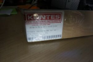 New Kontes Glass Homogenizer Grinder Tissue Sz 20 Pestle Cell Ptfe 885510 020