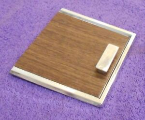 1965 1966 Mustang Fastback Coupe Gt Convrt Orig Deluxe Pony Console Ash Tray Lid