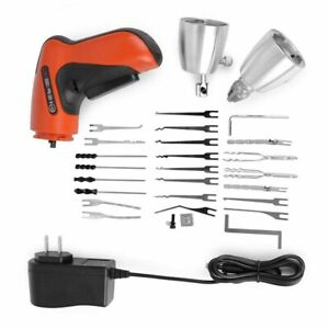 Klom Cordless Electric Lock Pick Gun Locksmith Tools Lock Pick Set