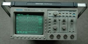 Tektronix Tds460 350mhz Digital Oscilloscope Gpib Vga Rs232 Power Cord