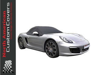 Porsche Boxster 981 Soft Top Roof Protector Half Cover 2012 To 2016 288x