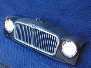 Jaguar Grille Wall Hanger Repurposed Car Art Game Room Bar Lounge Garage Lamp