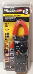 New Klein Tools Cl210 Ac Auto ranging 400 Amp Digital Clamp Meter