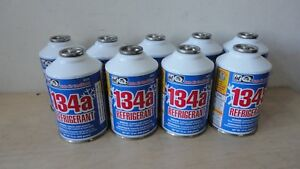 9 X Quest Auto Air Conditioner 134a Refrigerant 12 Oz Can New Free Shipping