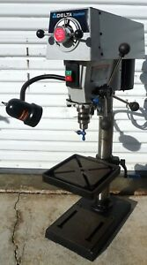 Delta Shopmaster 12 Variable Speed Drill Press Bench Top 1 2 Chuck Excellent