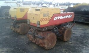 Dynapac Lp8500 Wireless Pad Foot Vibratory Roller Trench Compactor Operational