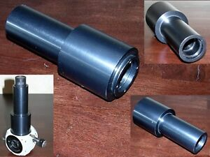 Adapter coupler photo Camera Tube W Zeiss Microscope Dovetail To Eyepiece Mount