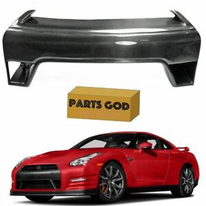 For Nissan Gtr Carbon Fiber Front Bumper Center Piece 2013 2016